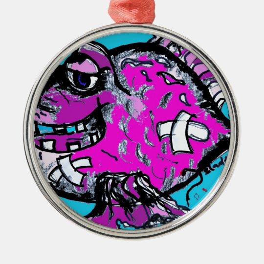 survivor metal ornament