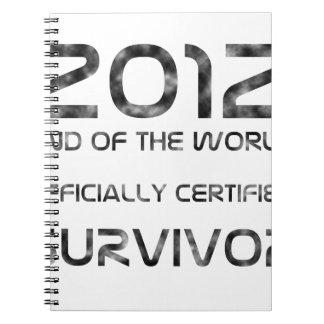Survivor Spiral Notebooks