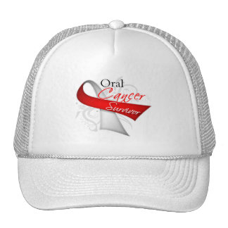 Survivor - Oral Cancer Mesh Hat