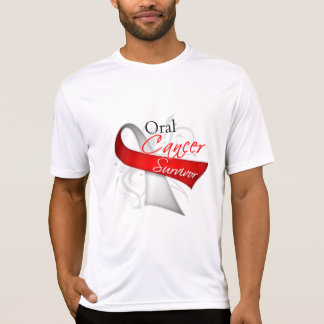 Survivor - Oral Cancer T-shirts
