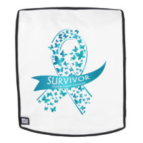 Survivor Ovarian Cancer Awareness Backpack