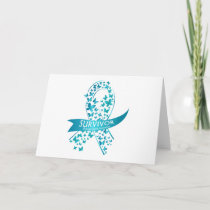 Survivor Ovarian Cancer Awareness Card