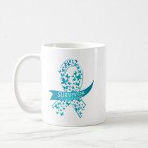 Survivor Ovarian Cancer Awareness Coffee Mug