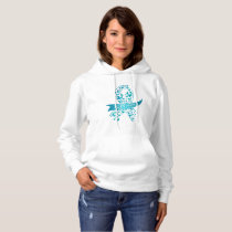 Survivor Ovarian Cancer Awareness Hoodie