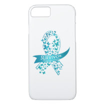 Survivor Ovarian Cancer Awareness iPhone 8/7 Case