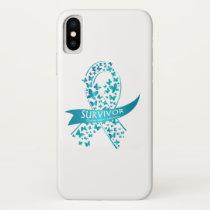 Survivor Ovarian Cancer Awareness iPhone X Case