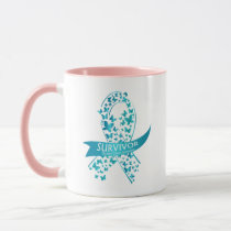 Survivor Ovarian Cancer Awareness Mug