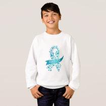 Survivor Ovarian Cancer Awareness Sweatshirt