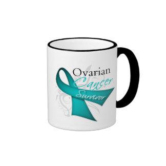 Survivor - Ovarian Cancer Ringer Mug