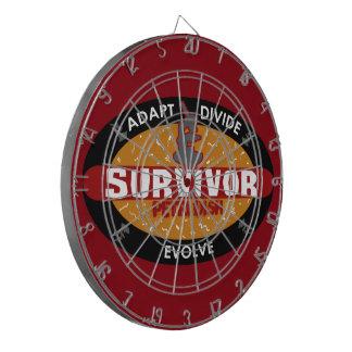 Survivor Petri Dish Dartboard