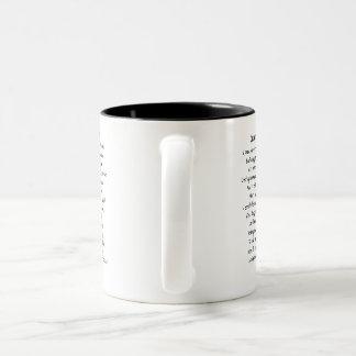 Survivor Picture Two-Tone Coffee Mug