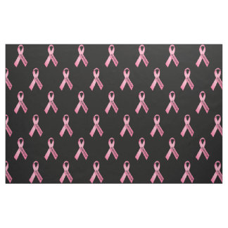 Survivor Pink Ribbon Fabric