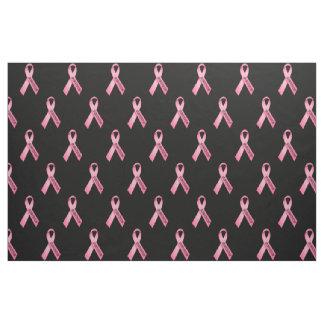 Survivor Pink Ribbon Fabric