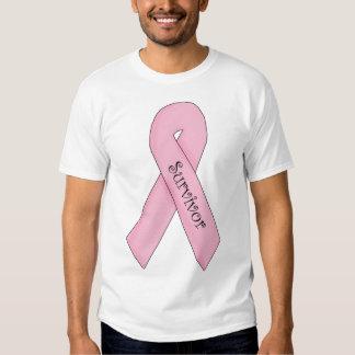Survivor Pink Ribbon T Shirt