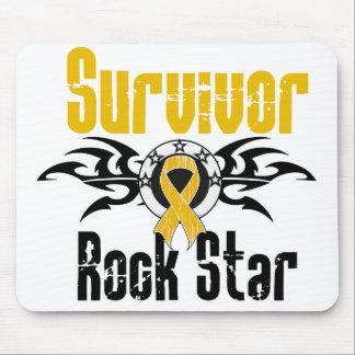Survivor Rock Star - Appendix Cancer Survivor Mouse Pad
