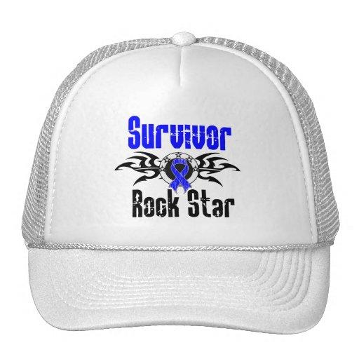 Survivor Rock Star - Colon Cancer Survivor Mesh Hats