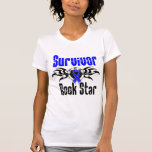 Survivor Rock Star - Colon Cancer Survivor Tee Shirts