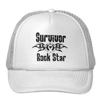 Survivor Rock Star - Lung Cancer Survivor Trucker Hat