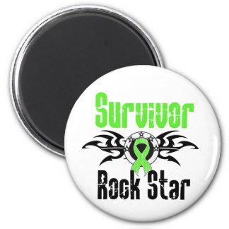 Survivor Rock Star - Lymphoma Survivor Magnet