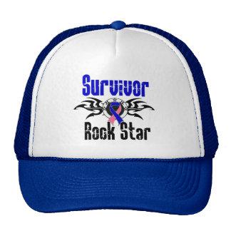 Survivor Rock Star - Male Breast Cancer Survivor Trucker Hat