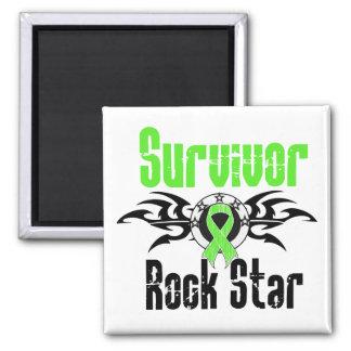 Survivor Rock Star - Non-Hodgkins Lymphoma Fridge Magnets