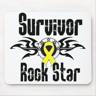 Survivor Rock Star - Sarcoma Survivor Mousepad
