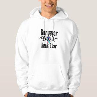 Survivor Rock Star - Thyroid Cancer Survivor Pullover