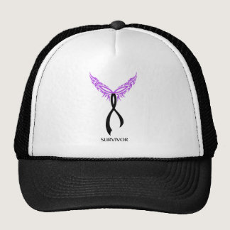 Survivor Skin Cancer Triquetra Phoenix Trucker Hat