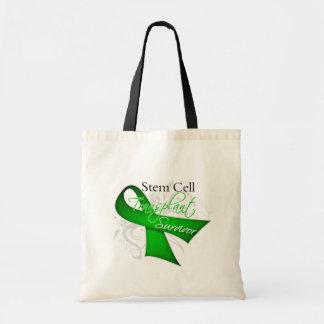 Survivor - Stem Cell Transplant Tote Bag