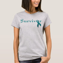 Survivor teal ribbon T-Shirt