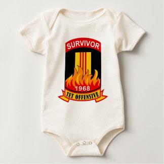 Survivor - Tet Offensive - 1968 Baby Bodysuit