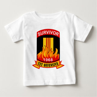 Survivor - Tet Offensive - 1968 Baby T-Shirt