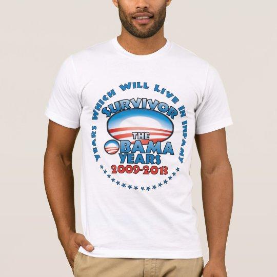 Survivor: The Obama Years - Anti Obama T-Shirt