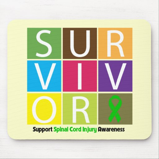 * Survivor Tile Spinal Cord Injury Mouse Pads