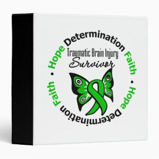 Survivor Traumatic Brain Injury v2 3 Ring Binder