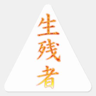 Survivor Triangle Sticker