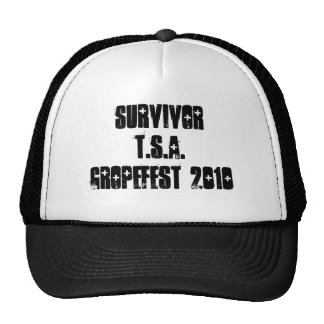 SURVIVOR TSA GROPEFEST 2010 HAT