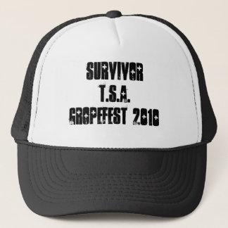 SURVIVOR TSA GROPEFEST 2010 TRUCKER HAT