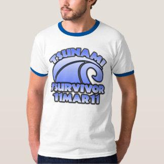 Survivor - Tsunami -  11 Mar 11 T-Shirt