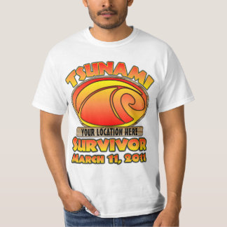 Survivor - Tsunami - Customize T-Shirt