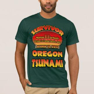 Survivor - Tsunami - Oregon T-Shirt