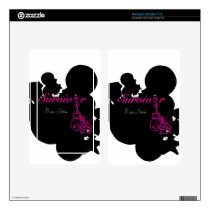 Survivor with ribbon and boxing gloves art kindle fire decal