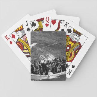 Survivors of USS PRINCETON_War Image Poker Deck