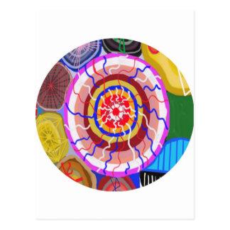 Surya Chakra - Sun Source Energy Postcard