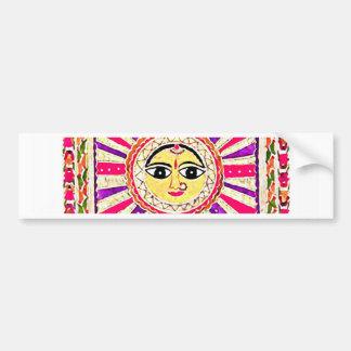 Surya Hindu Sun God Bumper Sticker