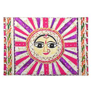 Surya Hindu Sun God Placemat