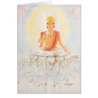 Surya- the Sun Vedic Astrology Card