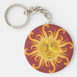 Suryadev: The Sun Llavero Redondo Tipo Pin