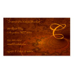Suryasta Sun Salute Abstract Art Double-Sided Standard Business Cards (Pack Of 100)