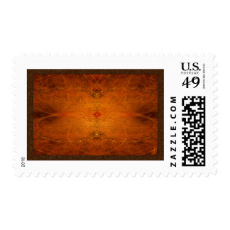 Suryasta Sun Salute Abstract Art Postage